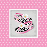Wild Child Flip Flops Posters by Kathy Middlebrook