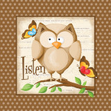 Listen Print by Kathy Middlebrook