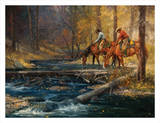 Cold Water and Falling Leaves Prints by Jack Sorenson
