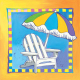 Beach Chair Posters by Scott Westmoreland