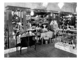 Interior of Syman's Jewelry Store, 1926 Giclee Print by Chapin Bowen