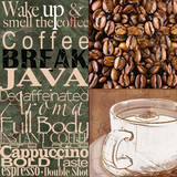 Coffee Break Posters by Lisa Wolk