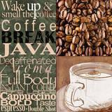 Coffee Break Posters by Lisa Wolk