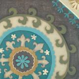 Suzani Florals III Prints by  Sapna