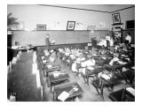 Rainier School - Classroom, 1905 Giclee Print by Asahel Curtis