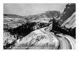 Colorado - View along Highway between Basalt and Aspen Kunstdrucke von  Lantern Press
