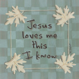 Jesus Loves Me Posters by Karen Tribett