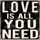 Love is All You Need Kunstdruck von Louise Carey