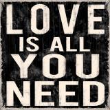 Love is All You Need Kunstdruck von Louise Carey
