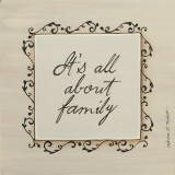 About Family Print by Karen Tribett