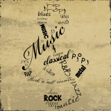 Music Note Affiches par Anna Quach