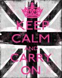 Forhold deg rolig og gå videre Posters av Louise Carey