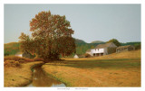After the Harvest Print by Peter Sculthorpe