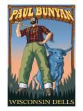 Wisconsin Dells, WI - Paul Bunyan Posters