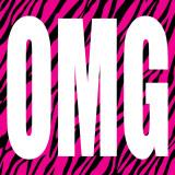 OMG Zebra Kunstdrucke von Louise Carey