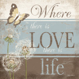 Where There Is Love Poster by Kathy Middlebrook