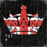 Crown Union Jack Posters par Louise Carey