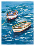 Vernazza Boats Posters by Bill Drysdale