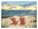 Outer Bank Sunrise Posters by Scott Westmoreland