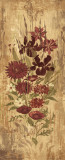 Floral Frenzy Burgundy I Prints by Alan Hopfensperger