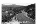 Arizona - Globe-Superior Hwy View of Pinal Creek Bridge Poster