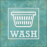Wash Poster by Stephanie Marrott