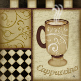Cappuccino Posters by Jennifer Pugh