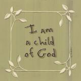I am a Child of God Art by Karen Tribett