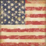 Drapeau des Etats-Unis Poster par Stephanie Marrott
