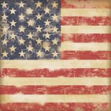 USA Flag Poster von Stephanie Marrott