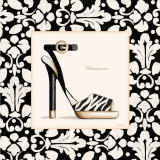 Glamorous Shoe Art by Kathy Middlebrook