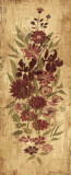 Floral Frenzy Burgundy II Prints by Alan Hopfensperger