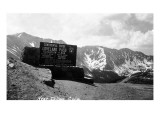 Colorado - Continental Divide at Loveland Pass near Dillon Kunstdruck
