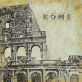Rome Print by Stephanie Marrott