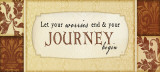 Journey Begin Art by Jennifer Pugh