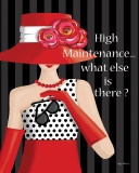 High Maintenance Prints by Kathy Middlebrook