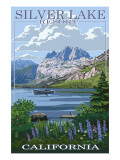 Silver Lake Resort, California - Summer Scene Posters