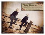 Cowboy Reason II Posters by Shawnda Eva