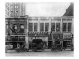 Oregon City Woolen Mills Store Exterior, 1936 Giclee Print by Chapin Bowen