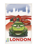 Cars 2: London Pôsters