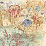 Floral Frenzy Coastal V Prints by Alan Hopfensperger