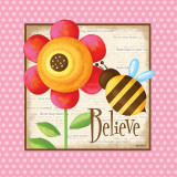 Believe Print by Kathy Middlebrook