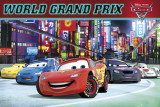 Cars 2 - World Grand Prix Posters