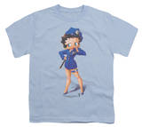 Youth: Betty Boop - Officer Boop T-shirts