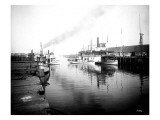 Olympia Harbor, Circa 1910 Giclee Print by Asahel Curtis