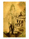 Stock Whitly, a Wasco Chief, Circa 1864 Giclee Print