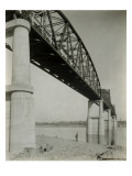 Pasco Kenniwick Bridge, 1922 Giclee Print by Asahel Curtis