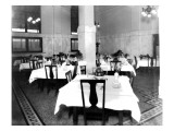 Lunch Counter, Union Depot, 1923 Giclee Print by Asahel Curtis