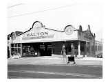 Walton Garage and Service Station, 1926 Premium Giclee Print by Chapin Bowen