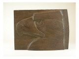 James A. Wehn Carved This Sculpture Study for a Stone Version of this Same Work Giclee Print by James Wehn